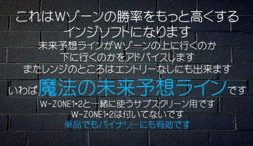 W-zoneのオプション「未来予想ライン」が発売に